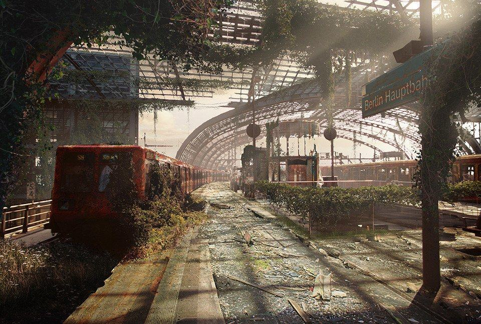 Vamers - Artistry - The World of The Last of Us- Envisioning a Post Apocalyptic Future - Hauptbahnhof Apocalypse