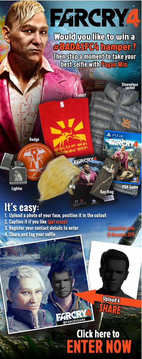 Vamers - FYI - Win a Far Cry 4 Hamper with Megarom Games - Main Banner