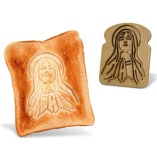 Vamers - Geekmas Gift Guide - Holy Toast Bread Stamp