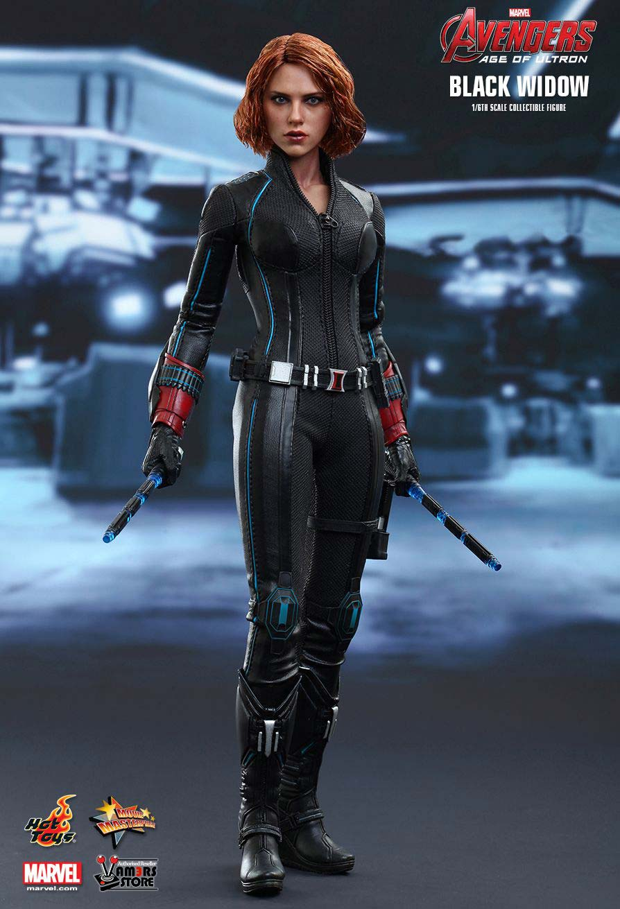 Avengers Age Of Ultron Hot Toys Black Widow Vamers