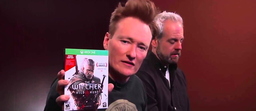 Vamers - FYI - Gaming - Conan Hilariously Reviews The Witcher 3- Wild Hunt - Banner 02