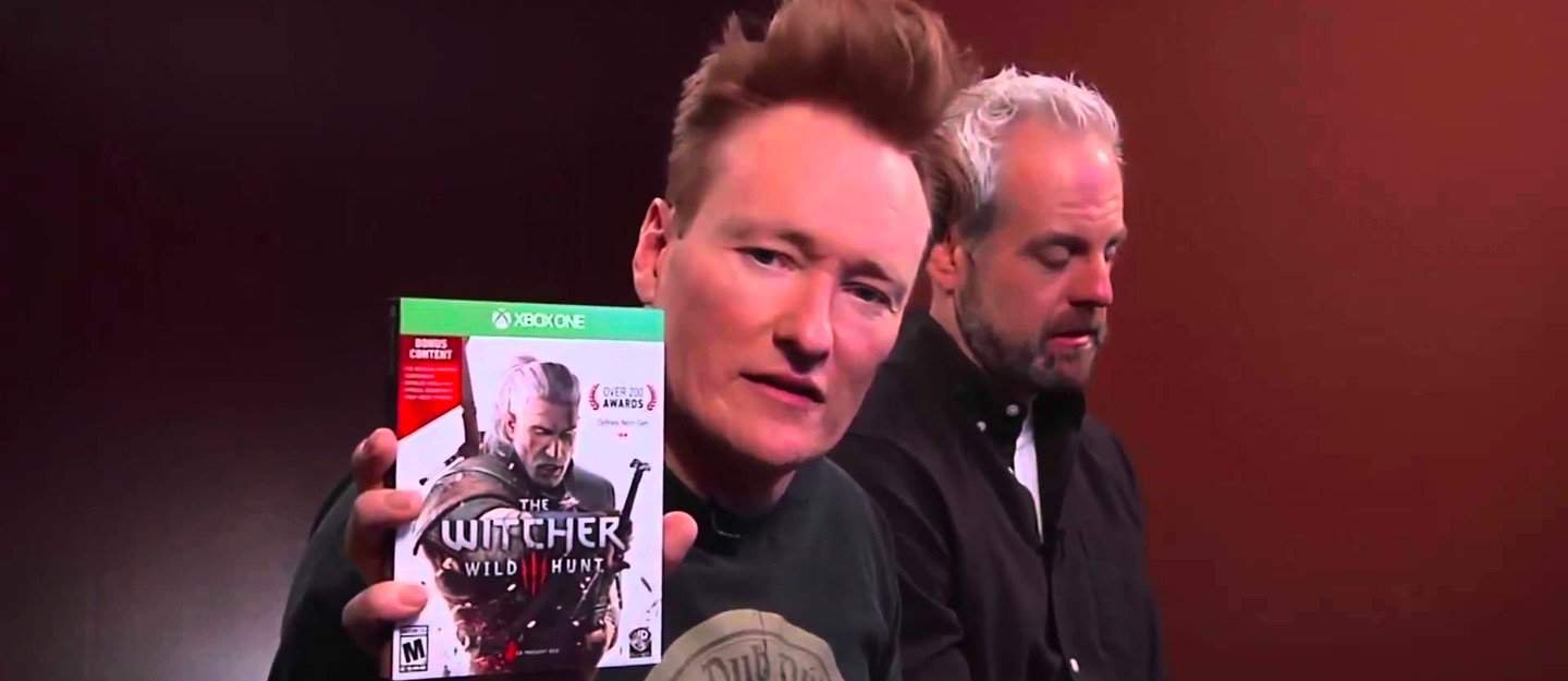 Conan Hilariously Reviews The Witcher 3: Wild Hunt