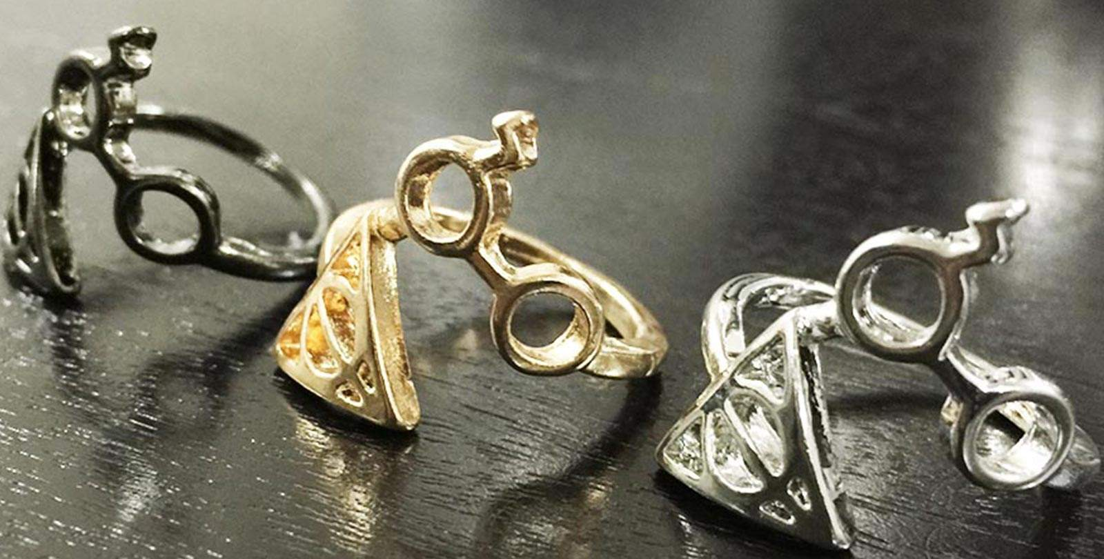 Magic At Your Fingertips with these Harry Potter Inspired Deathly Hallows Rings