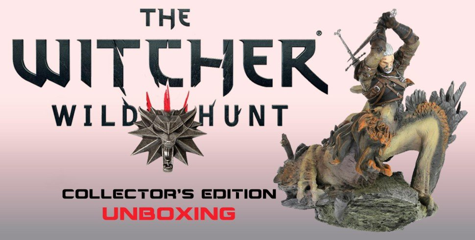 Vamers - Vamers Studio - Unboxing The Witcher 3 - Wild Hunt Collector's Edition [Xbox One] - Unboxing Banner