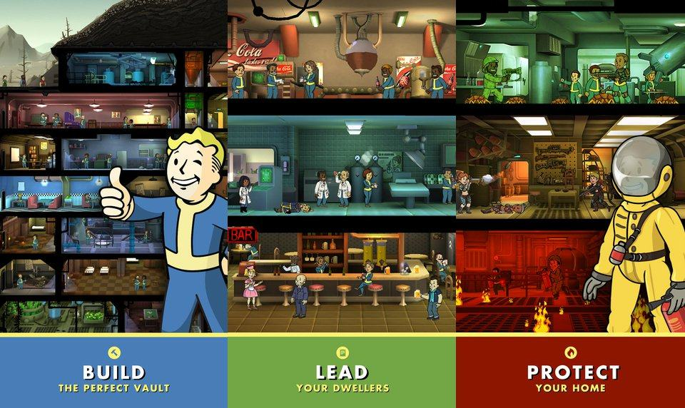 Vamers - FYI - Gaming - After Success on IOS, Fallout Shelter Comes to Android - Duties