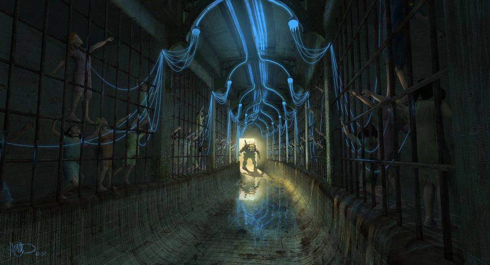 Vamers - Geekosphere - Artistry - Cancelled Bioshock Movie Concepts - 01