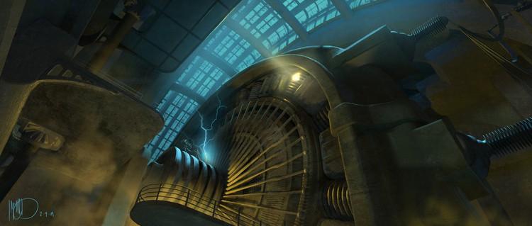 Vamers - Geekosphere - Artistry - Cancelled Bioshock Movie Concepts - 04