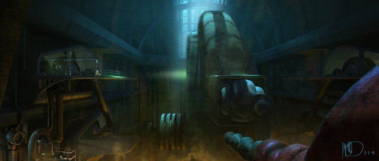 Vamers - Geekosphere - Artistry - Cancelled Bioshock Movie Concepts - 05
