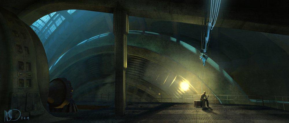 Vamers - Geekosphere - Artistry - Cancelled Bioshock Movie Concepts - 06