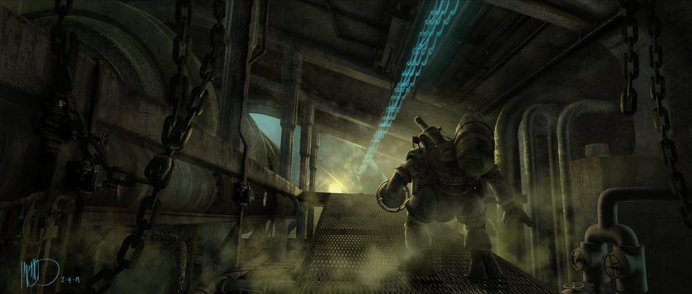 Vamers - Geekosphere - Artistry - Cancelled Bioshock Movie Concepts - 08