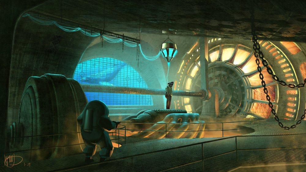 Vamers - Geekosphere - Artistry - Cancelled Bioshock Movie Concepts - 09