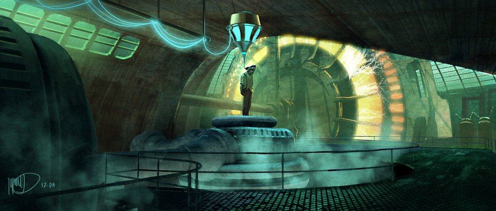 Vamers - Geekosphere - Artistry - Cancelled Bioshock Movie Concepts - 10