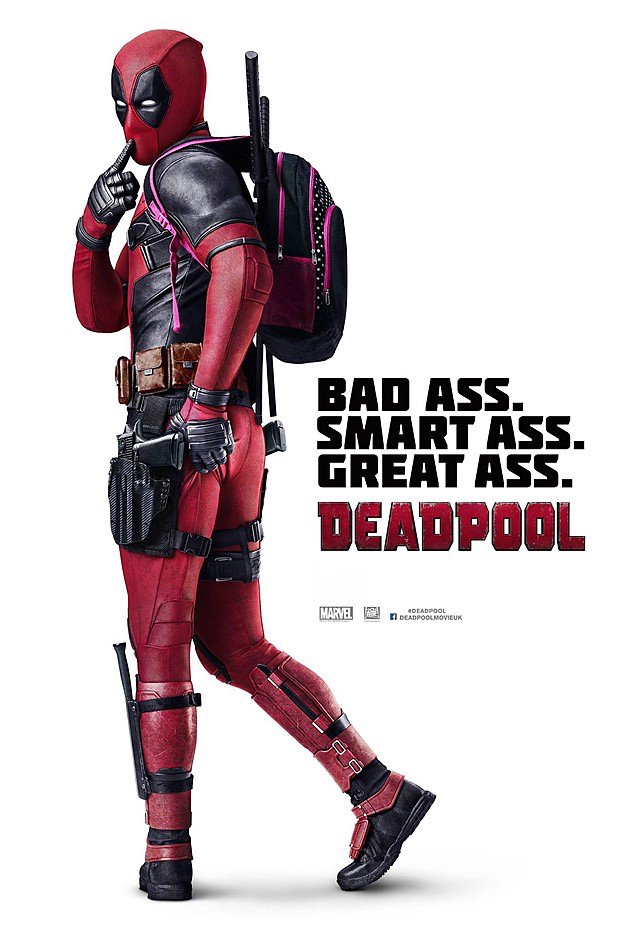 Vamers - Movie Hub - Deadpool (2016) - Official Poster