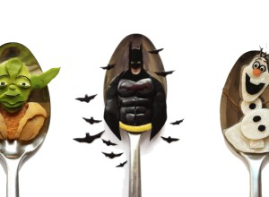 Vamers - FYI - Artistry - Food - Ioana Vanc - Geeky Edible Artwork Created on Spoons - Banner