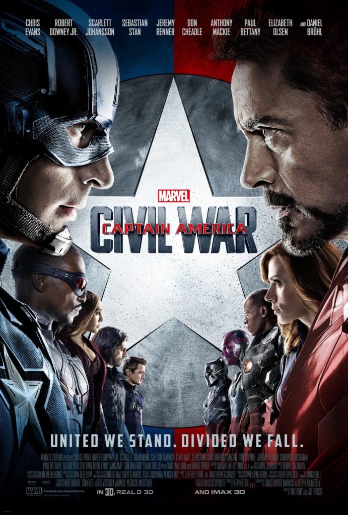 Vamers - FYI - Movie Hub - Captain America Civil War - Official Poster