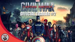 Marvel's Captain America: Civil War Second Trailer Blows Minds