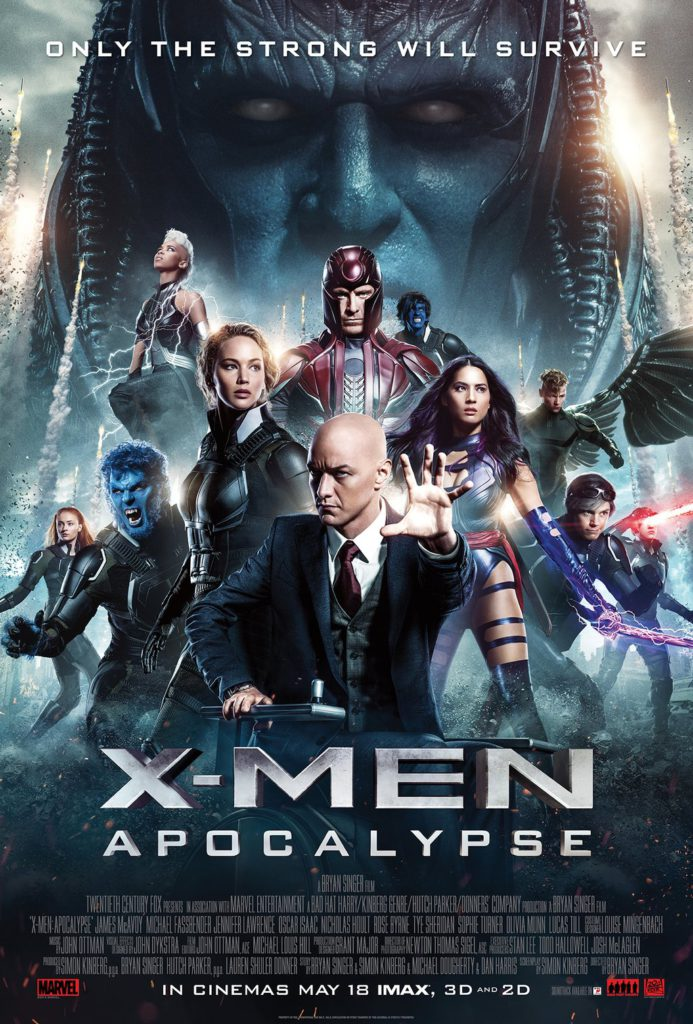 Vamers  - FYI - Movies - Hub - X-Men Apocalypse (2016) Movie Hub - Official Poster