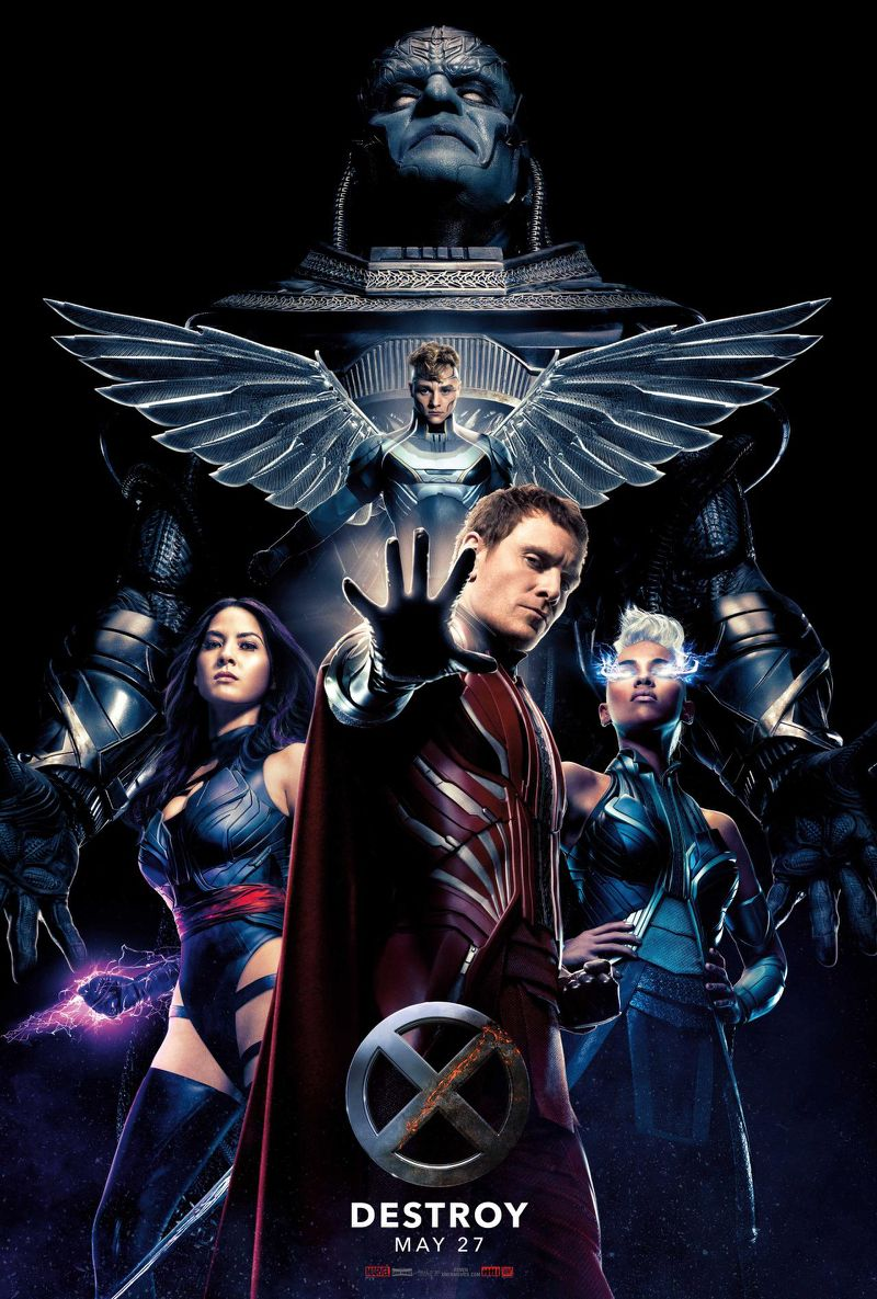 Vamers - FYI - Movies - X-Men- Apocalypse (2016) Final Trailer is Here... 'nuff Said - Official Poster - Destroy