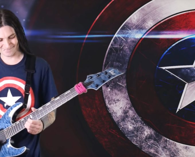 Vamers - Geekosphere - Music - Fandom - Captain America's Theme Gets a Heavy Metal Cover - Banner 01