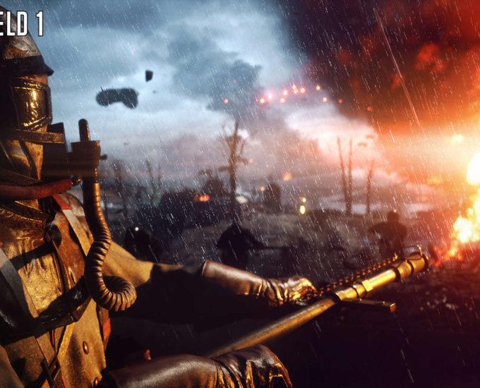 Vamers - FYI - Gaming - Battlefield 1 Gameplay Trailer is Explosively Frantic - E3 2016 - 02