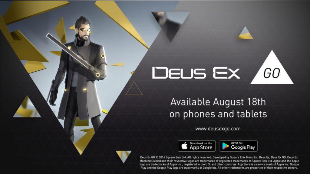 Vamers - FYI - Video Gaming - Deus Ex Go Release This Week - 03