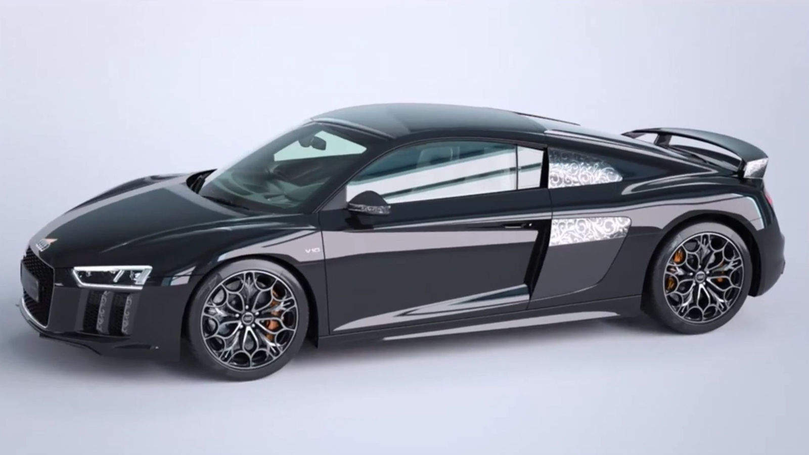 Audi Made An Exclusive And Gorgeous Final Fantasy Xv Themed R8