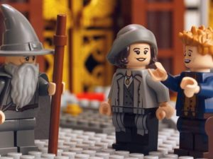Gandalf Welcomes Newt Scamander to LEGO Dimensions