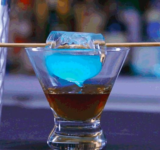 Mystical Doctor Strange Cocktail - Eye of Agamoto