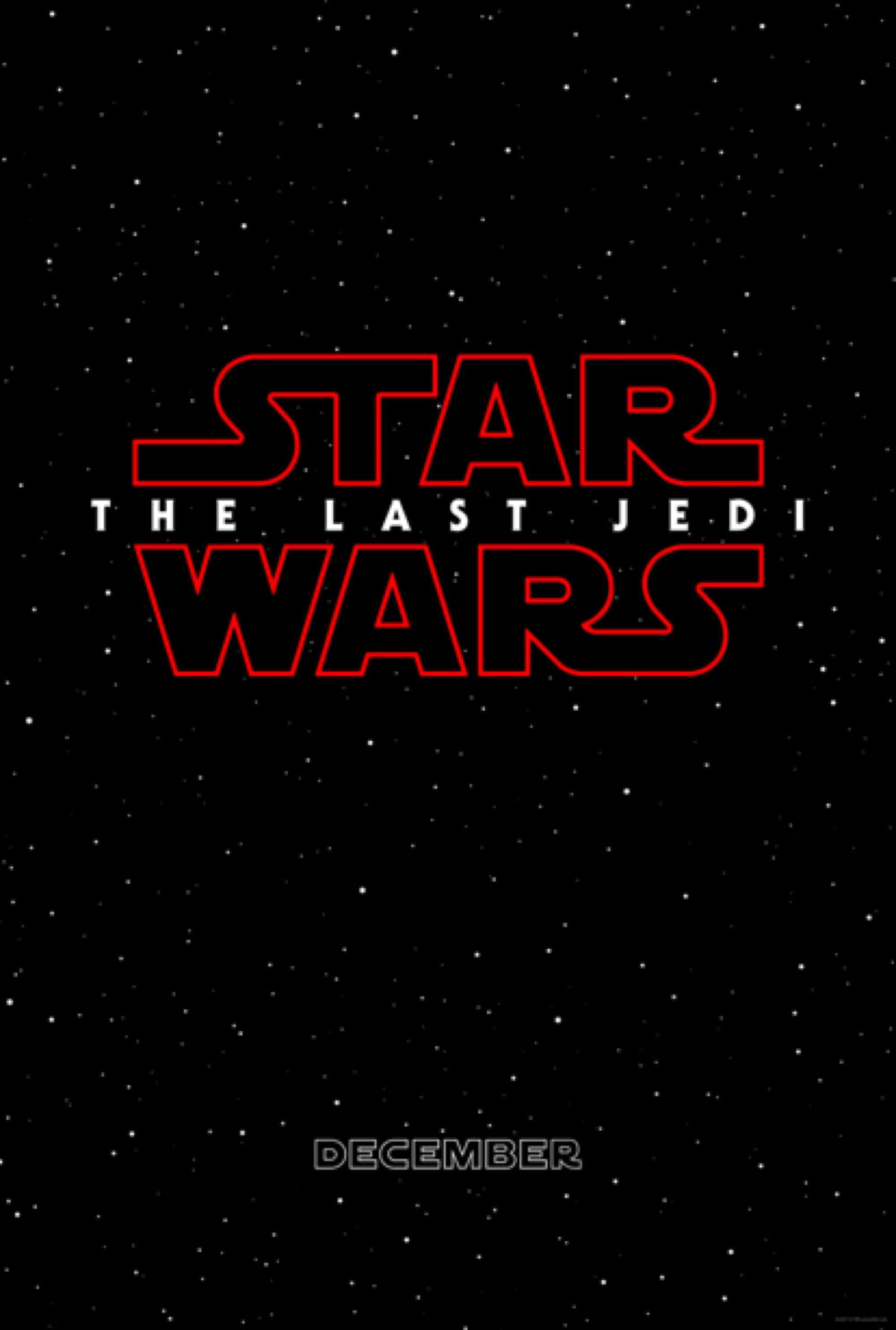 Vamers - FYI - Movies - Films - Official Title and First Poster for Star Wars Episode VIII Revealed - Official Poster