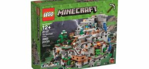 LEGO Announces Absolutely Massive Minecraft Mountain Cave Set