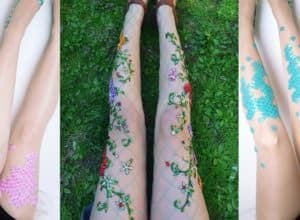 These Fairy Tale and Mermaid Stockings will bring your Fantasies to Life
