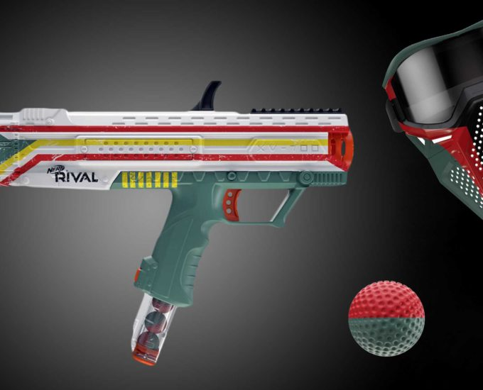 Nerf Rival Star Wars Bounty Hunter Gun is real and Coming Soon!