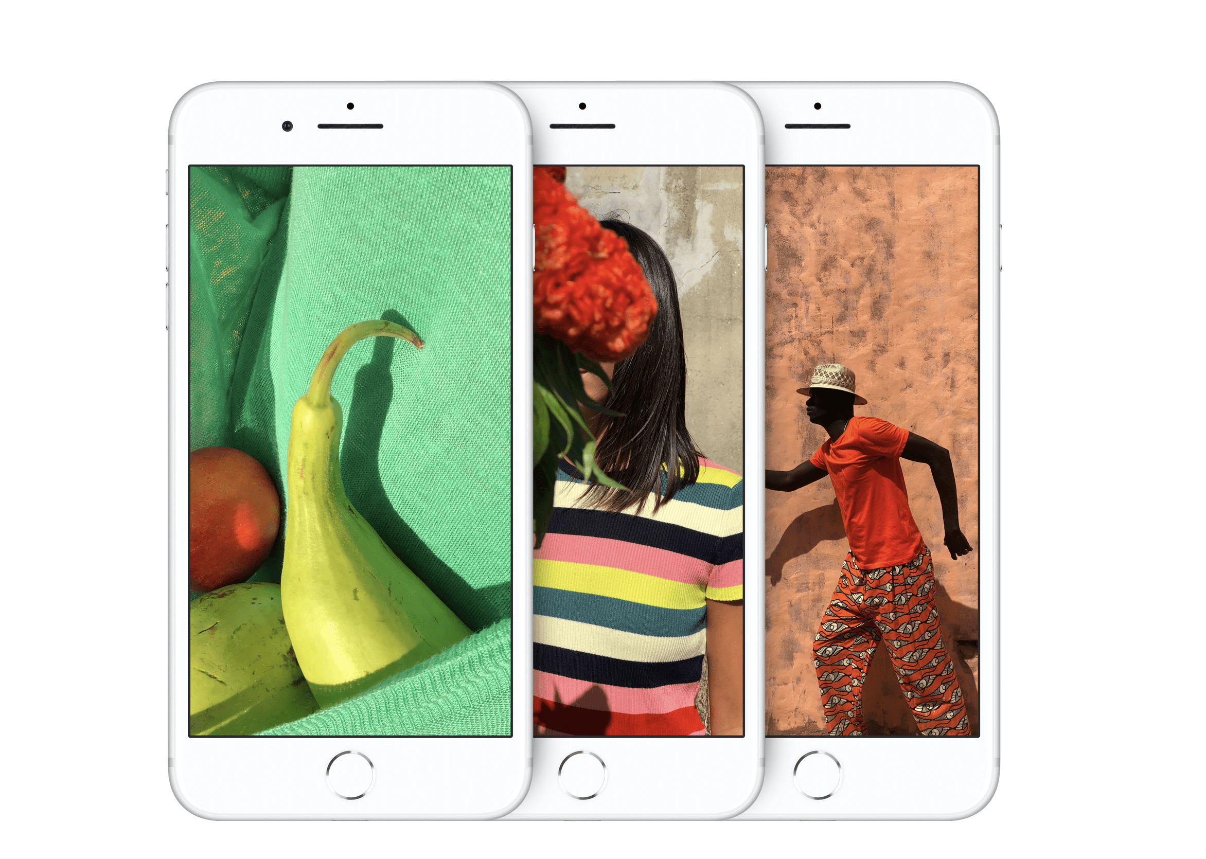 Both The IPhone 8 And Plus Have New 12MP Cameras With Larger Faster Sensors Improved Colour Filters Deeper Pixels Optical Image Stabilisation