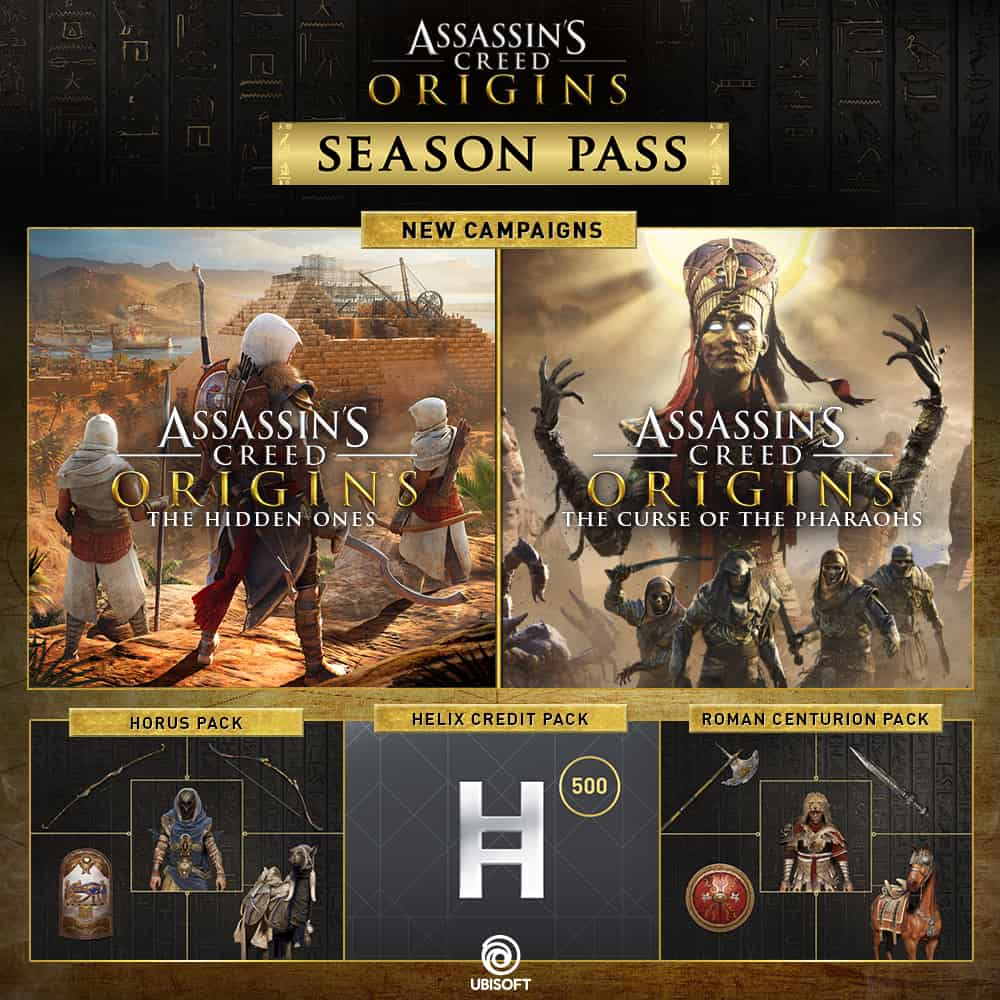 The Hidden Ones DLC for Assassin's Creed Origins detailed