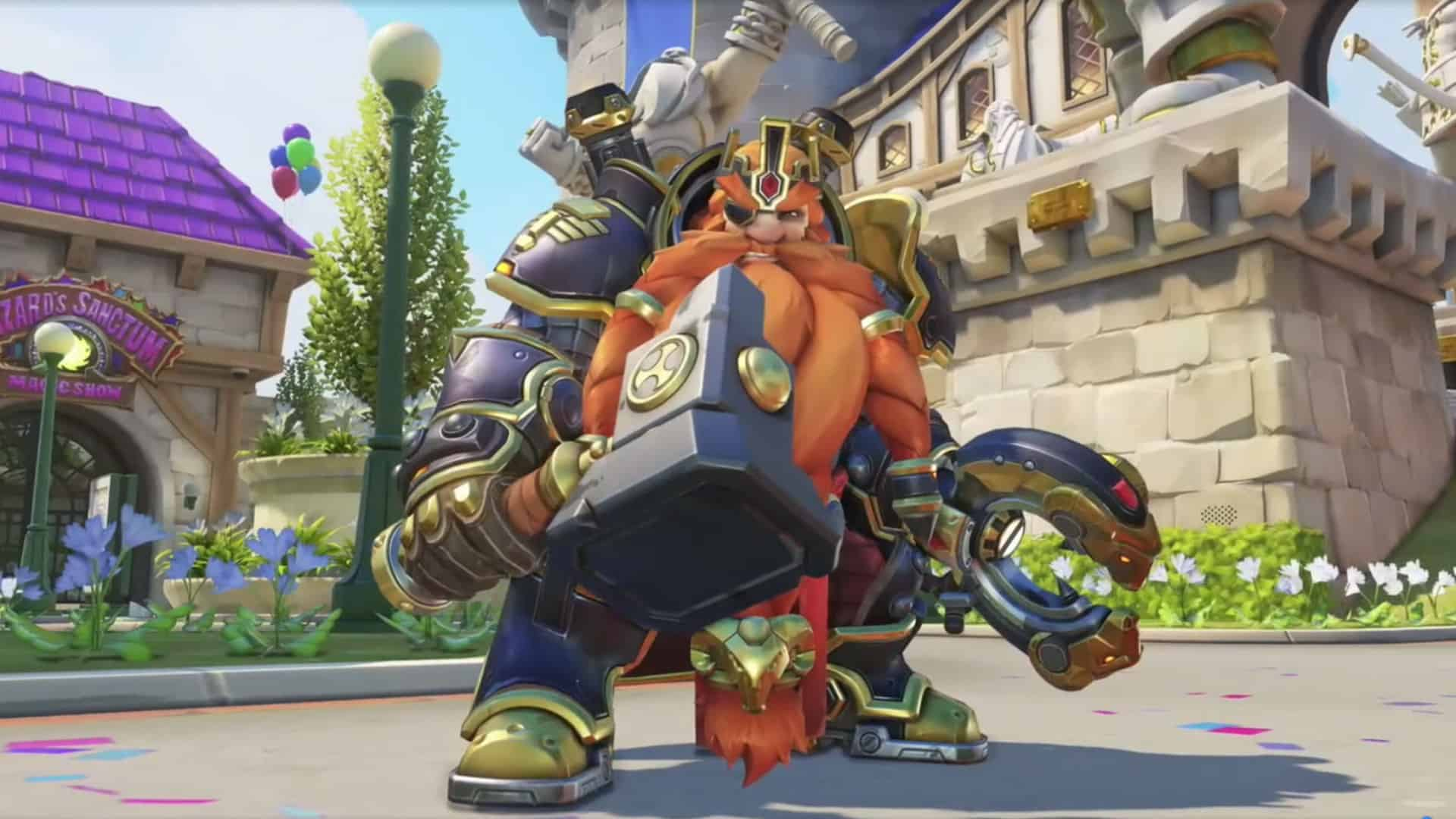 Overwatch S Blizzard World Map Is A Theme Park Based On Blizzard Games