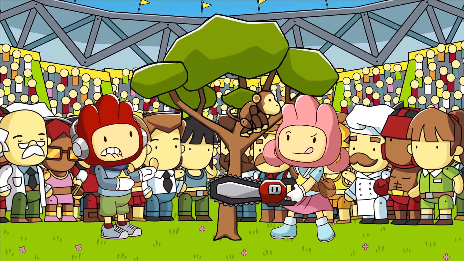 WBIE's Scribblenauts game features multiplayer modes