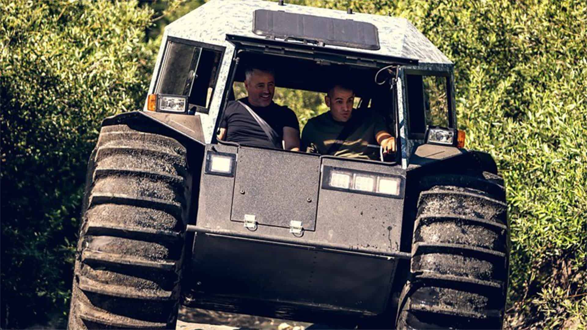 the boys go in search of big foot in top gear series 25 episode 2. Black Bedroom Furniture Sets. Home Design Ideas