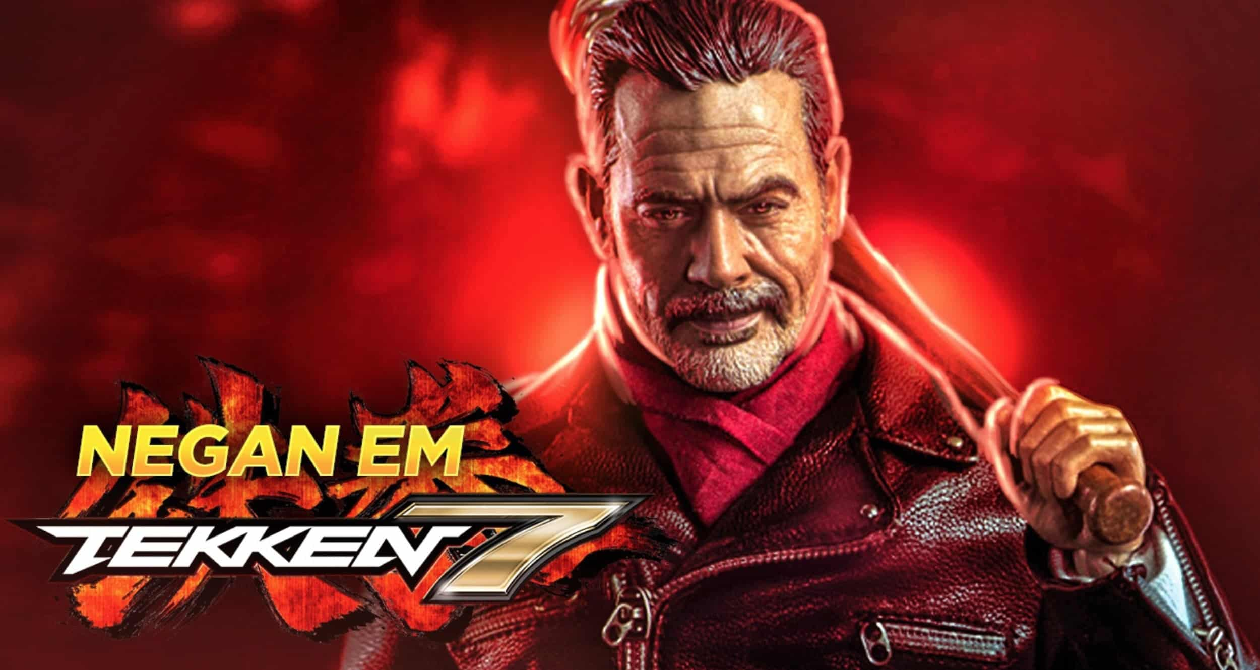 the walking dead s negan is coming to tekken 7 with lucile in hand