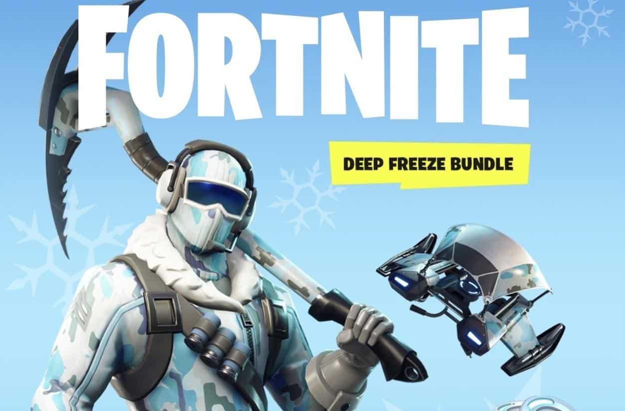 Epic Games Reveals Retail Fortnite Deep Freeze Bundle But Who Is