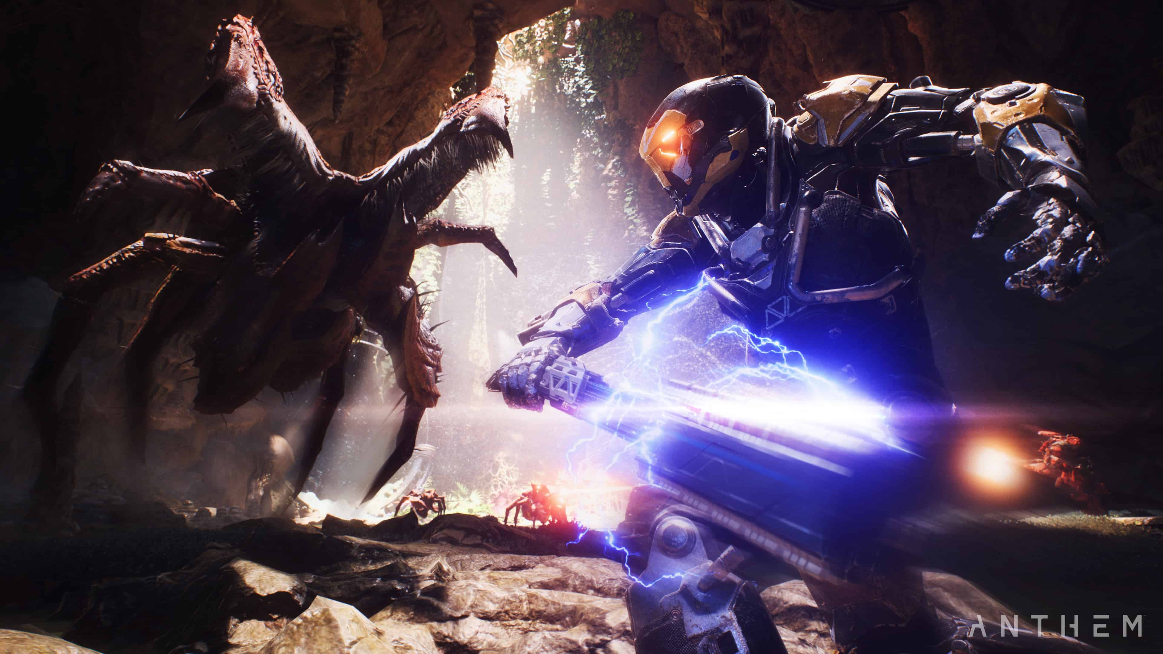 Anthem will have a 16-player social hub called the Launch Bay