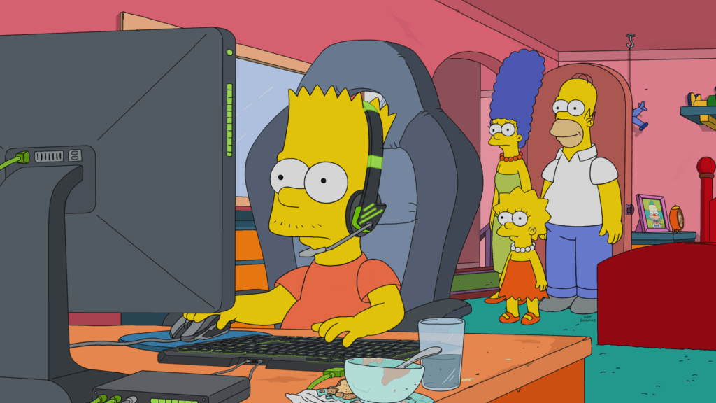 Bart Simpson becomes an esports star on The Simpsons