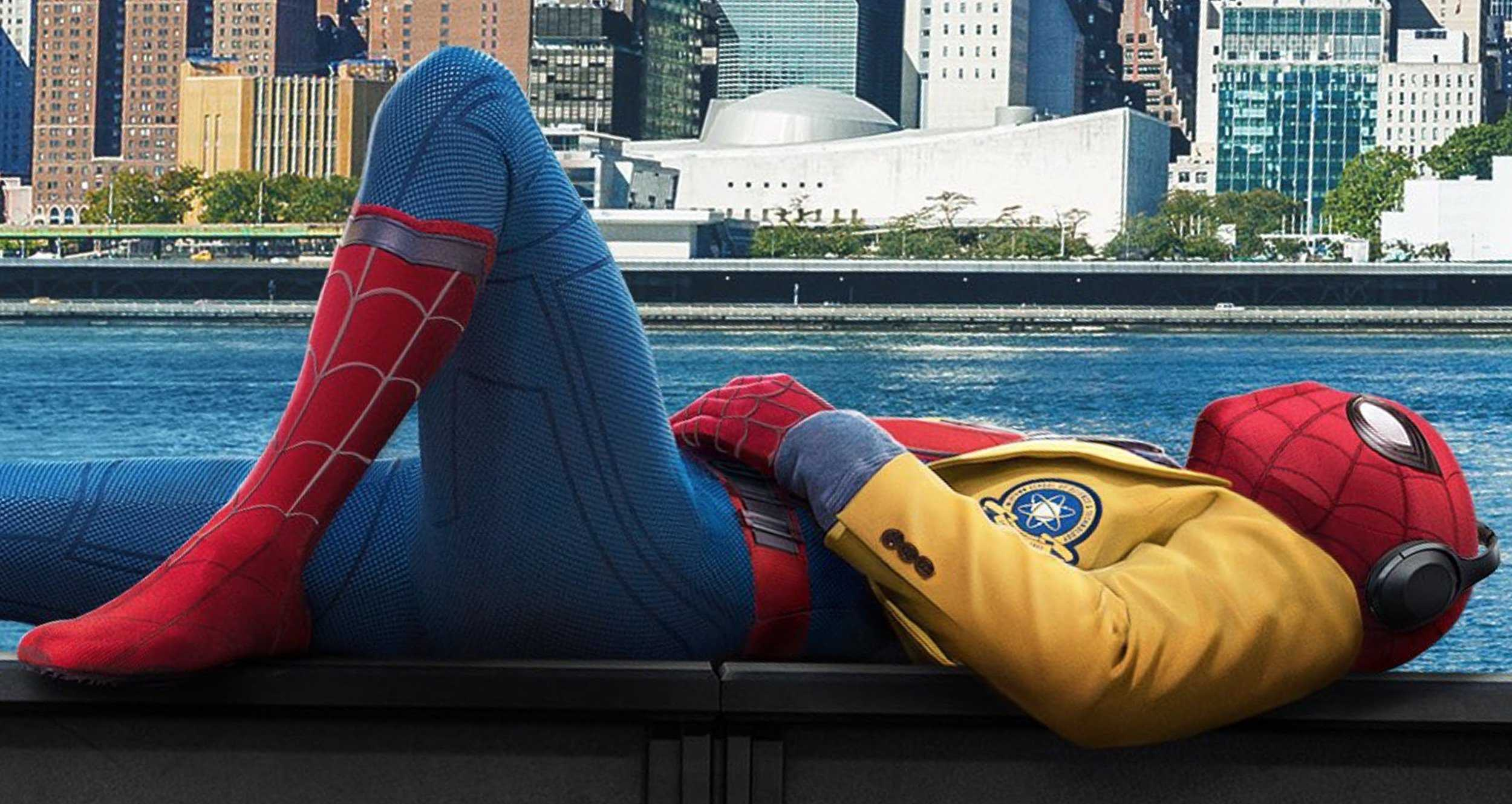 39 homework can wait the city can 39 t 39 in new spider man - New spiderman movie wallpaper ...