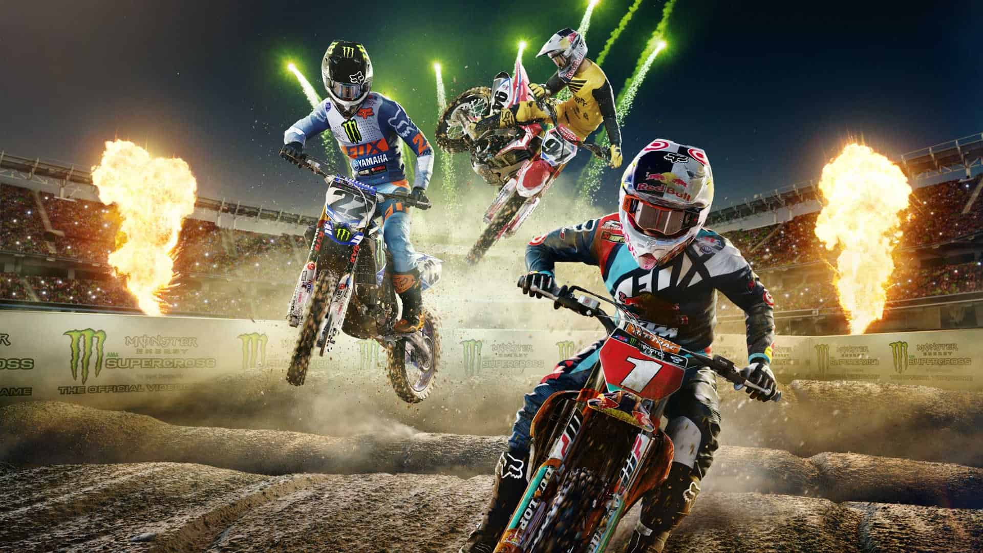 Monster Energy Supercross   The Official Video Game Is Out Now