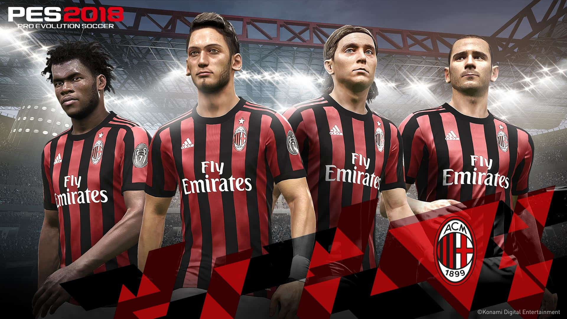 PES 2019 scores the addition of AC Milan in new ...