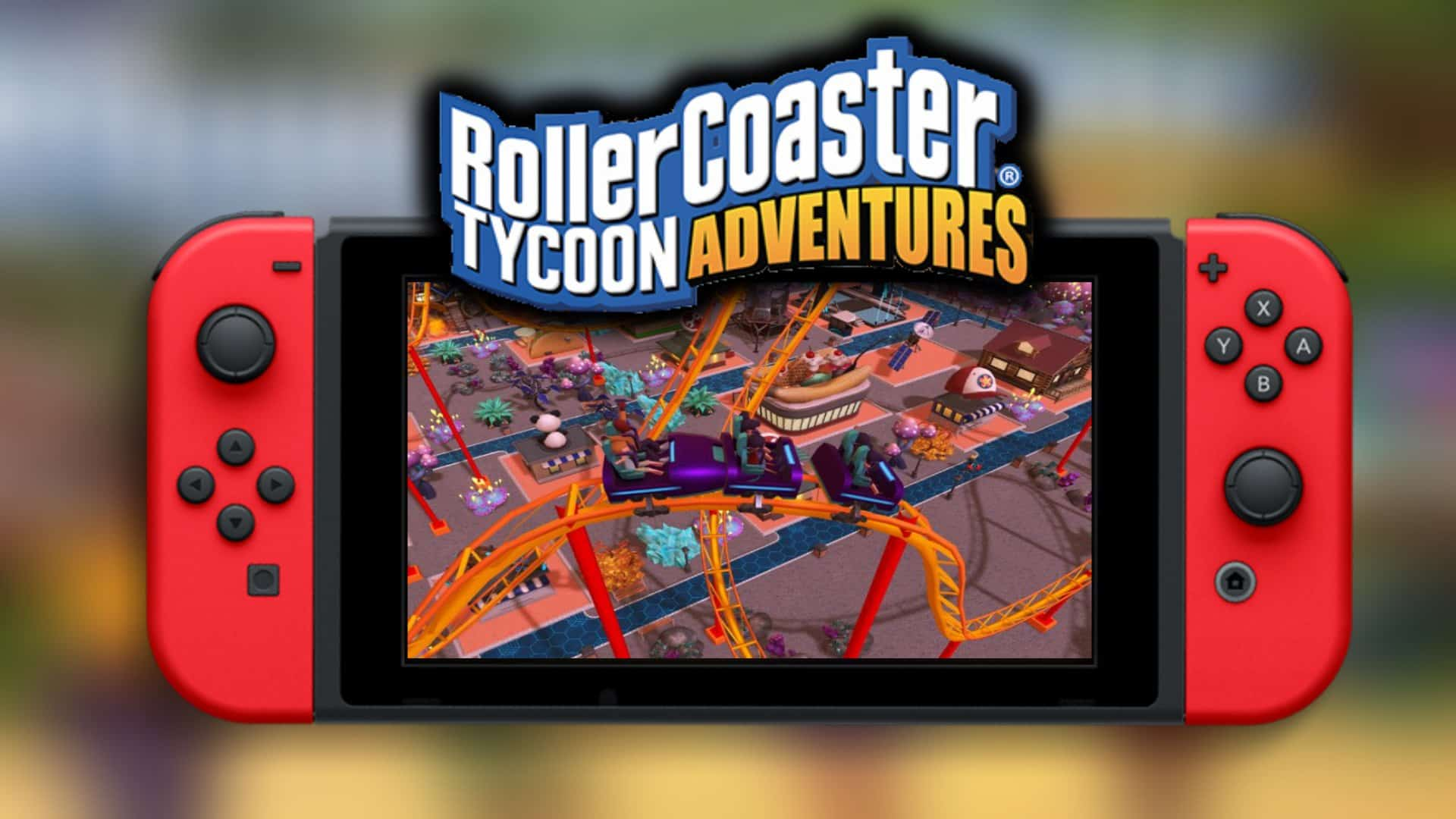Rollercoaster Tycoon Adventures brings the series to Nintendo Switch